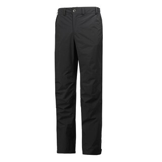Helly Hansen Mens Packable Pant - Black