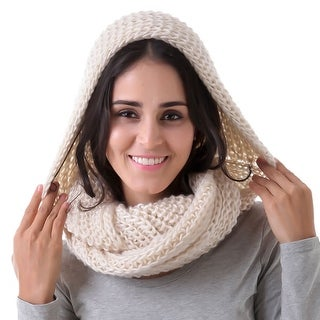 Mad Style Cream Madison Hood & Scarf