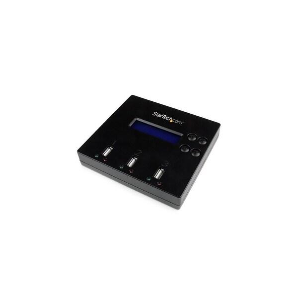 StarTech USBDUP12B StarTech.com 1:2 Standalone USB 2.0 Flash Drive Duplicator and Eraser