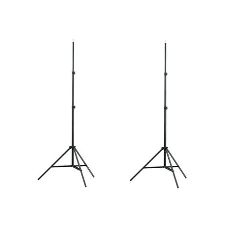2 x 7 ft Light Stands Tripod For Photography Studio Boom Softbox Video Lighting