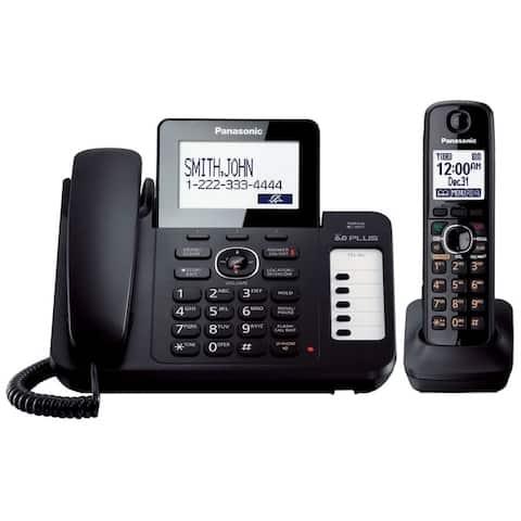 Panasonic KX-TG572SK DECT 6.0 Corded/ Cordless Phone System (Refurbished)