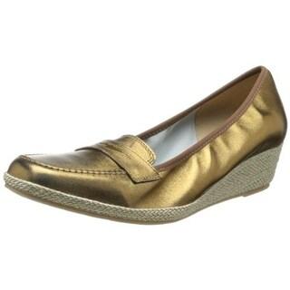 Sesto Meucci Womens Meryl Wedge Heels Loafer