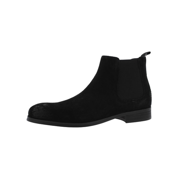 Steve Madden Mens Pilot-N Chelsea Boots Suede Ankle