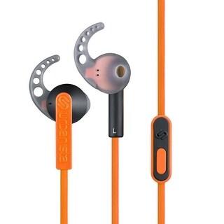 Urbanista Rio Sport Earphones with GoFit Remote and Mic in Sunset Boulevard Orange