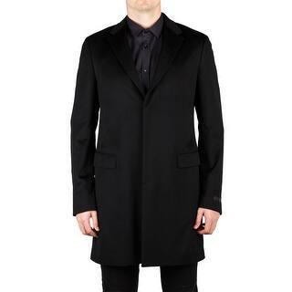 Prada Men's Camel Hair Viscose Trench Coat Jacket Black - 50|https://ak1.ostkcdn.com/images/products/is/images/direct/088c69745281cbb22ffd7f9cbc47223764e85c80/Prada-Men%27s-Camel-Hair-Viscose-Trench-Coat-Jacket-Black.jpg?impolicy=medium
