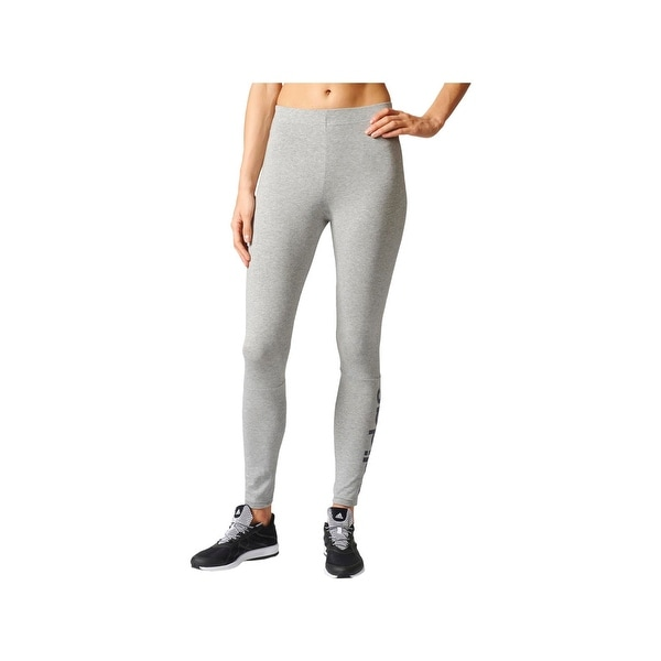 1fc802151afd Shop Adidas Womens Athletic Leggings Fitness Yoga - Free Shipping On Orders  Over  45 - Overstock - 23082093
