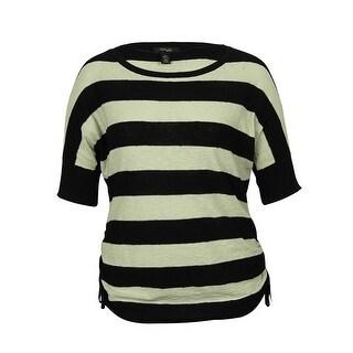 Style & Co Women's Striped Sweater