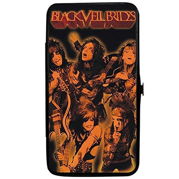 Buckle-Down Hinge Wallet - Black Veil Brides