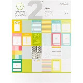 "Studio Calico Single-Sided Paper Pad 9""X12"" 36/Pkg-Seven Paper Darcy"