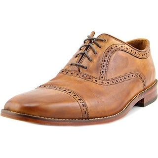 Cole Haan Giraldo Grand Cap II Men Square Toe Leather Oxford