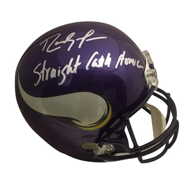 the latest 97002 739b5 Shop Randy Moss Autographed Minnesota Vikings Straight Cash ...