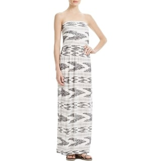 Joie Womens Casual Dress Printed Strapless - xs