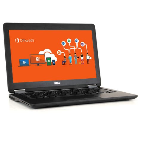 Dell E7250 Laptop Computer i5 16GB RAM 256GB SSD WIndows 10 Pro Microsoft Office