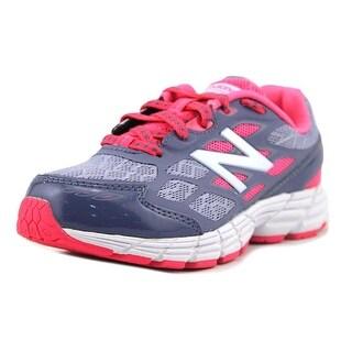 New Balance KJ880 EW Round Toe Synthetic Running Shoe