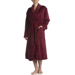DKNY Women's Chenille Long Robe