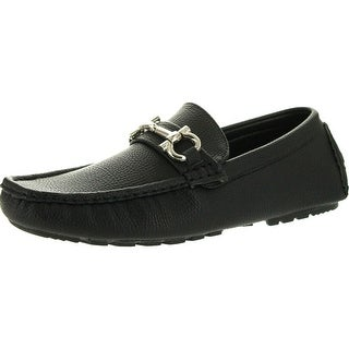 Reverse Mens European Style Dress Casual Loafers With Chain
