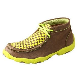 Twisted X Casual Shoes Boys Girls Driving Mocs Weave Bomber