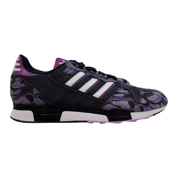 huge selection of ce2f2 e5f00 Shop Adidas ZX 800 Black/Purple-White Men's 661271 Size 11.5 ...