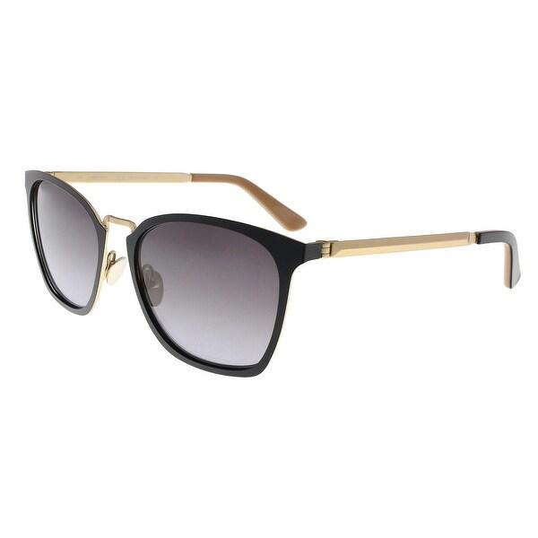 Shop Calvin Klein CK8029S 001 Black Square Sunglasses - 54-18-135 ... 1601f66943