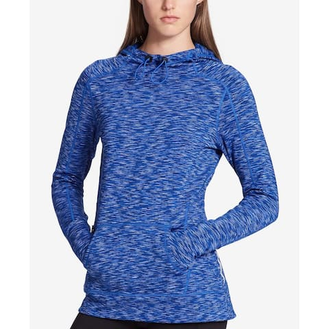 Calvin Klein Performance Women's New Space-Dyed Hoodie (Blue, M)