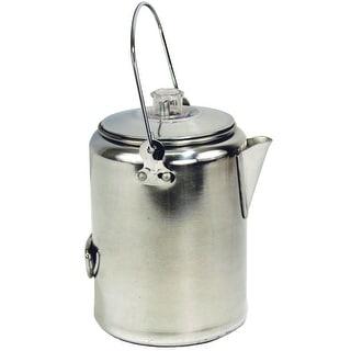 Texsport 13180 9 Cup Percolator Coffee Maker, Aluminum