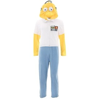 The Simpsons Homer Simpson Hooded Union Suit