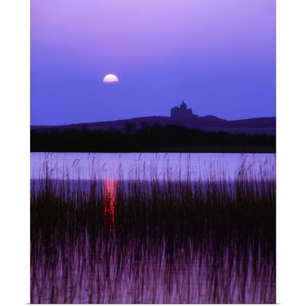 """""""Classiebawn Castle, Mullaghmore Head, County Sligo, Ireland, 19th Century Castle"""" Poster Print"""