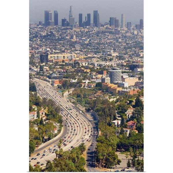 """Los Angeles, California"" Poster Print"