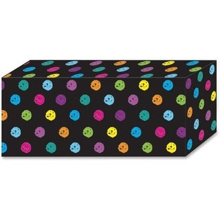 Chalk Dots Design Magnetic Blocks, Multicolor - 5 Piece