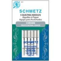 Size 90/14 5/Pkg - Chrome Quilt Machine Needles