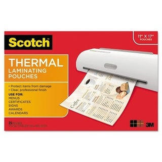 3M Mobile Interactive Solution - Laminating Pouches 11.45 In X 17.48 In
