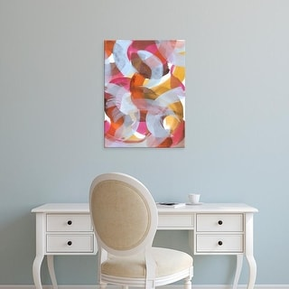 Easy Art Prints Jodi Fuchs's 'Sherbert I' Premium Canvas Art