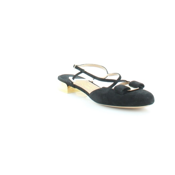 08a7cb4de Shop Salvatore Ferragamo Felma Women s Sandals   Flip Flops Black ...