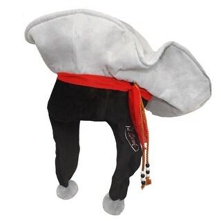 NFL Oakland Raiders Mascot Short Thematic Hat - Black