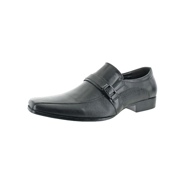 Kenneth Cole Reaction Mens REVIEW-ABLE Loafers Square Toe Dress - 12 medium (d)
