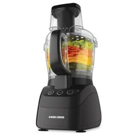 Black & Decker FP2500BB Black & Decker FP2500B PowerPro Wide-Mouth 10-Cup Food Processor
