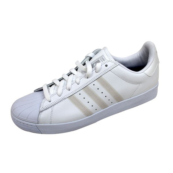 Adidas Men's Superstar Vulc White/White-Silver Metallic F37463