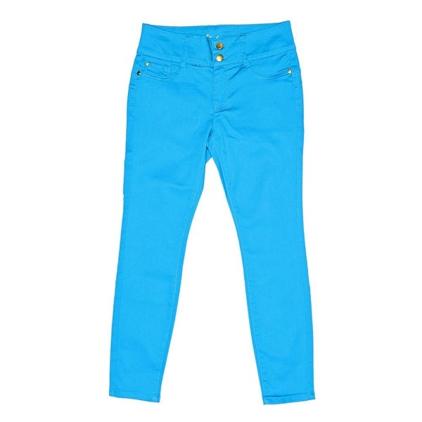 Thalia Sodi Double Button Ankle Pants Women Regular Skinny Pants