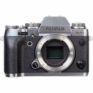 Fujifilm X-T1 Digital Camera Body Only, Graphite Silver Edition