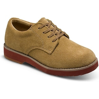 Sperry Top Slider Tevin Suede Oxford Shoes - 9.5 m us toddler