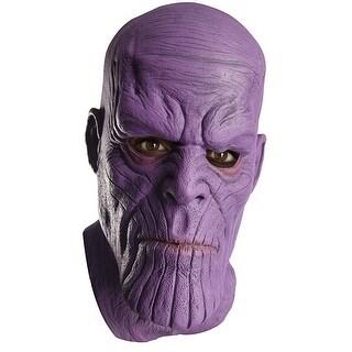 Marvel Avengers: Infinity War Thanos Adult Overhead Latex Costume Mask - Multi