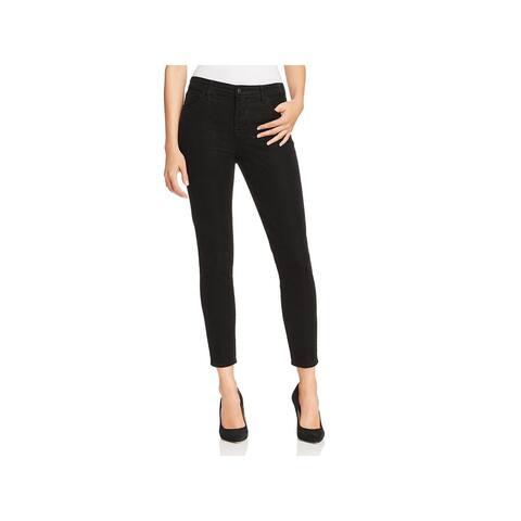 J Brand Womens Alana Cropped Pants Corduroy High-Rise