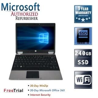 "Refurbished HP EliteBook 2540P 12.1"" Intel Core i7-640LM 2.13GHz 8GB DDR3 240GB SSD Windows 10 Pro 64 Bits 1 Year Warranty"