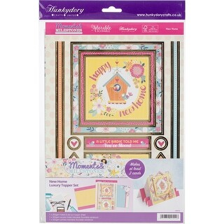 Hunkydory Moments & Milestones A4 Topper Set-New Home