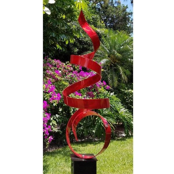 Large Modern Garden Sculptures: Shop Statements2000 Extra Large Red Modern Metal Garden