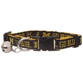 Collegiate Michigan Wolverines Cat Collar