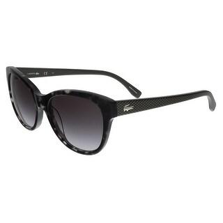 Lacoste L785/S 035 Grey Havana Cat Eye sunglasses Sunglasses - 55-17-140