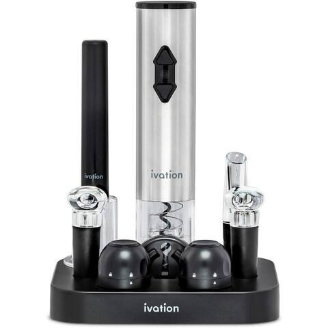 Ivation 9-Piece Wine Opener Gift Set