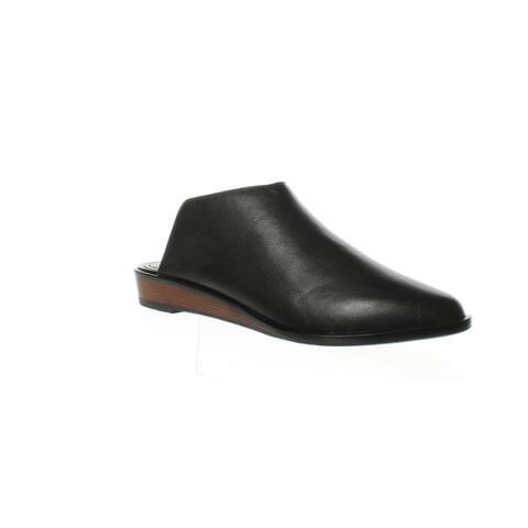 Kelsi Dagger Womens Adenale Black Mules Size 6