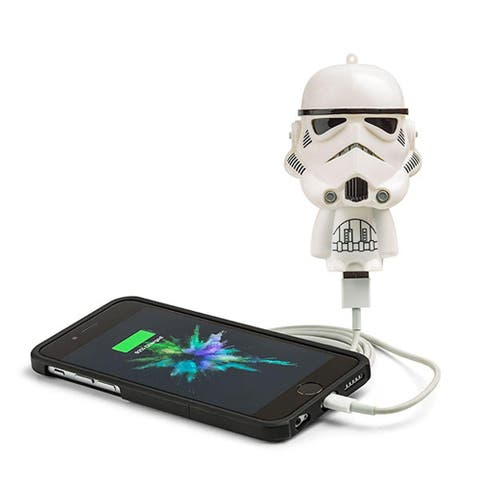 Star Wars Mighty Minis Micro Boost USB Charger: Stormtrooper - Multi